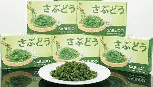 Nâng cao sức khỏe với rong nho Sabudo hảo hạng